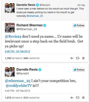 Richard Sherman, CB #25, Seattle Seahawks