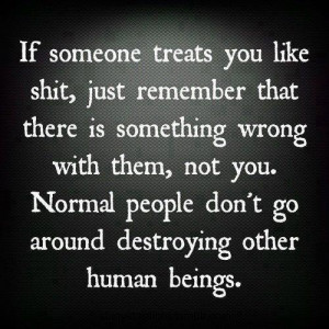 if someone treats you like shit facebook like here share this image in ...
