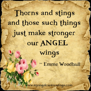 ... our angel wings emme woodhull more angel parchment image quotes