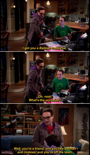 Quotes from The Big Bang Theory TV Series