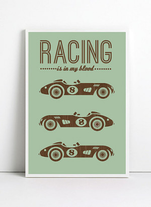 Car Racing Quotes Tumblr Inspirational quote print