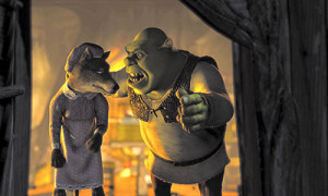 Shrek-Mike-Myers-kicks-the-banished-Big-Bad-Wolf-out-of-his-bed-in ...