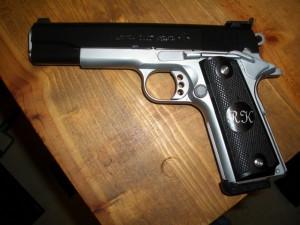 45 colt 1911 pistol