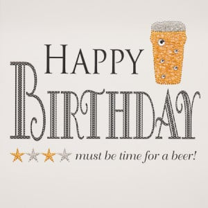 beer mug happy birthday beer wishes birthday quotes wishes cheers keep ...