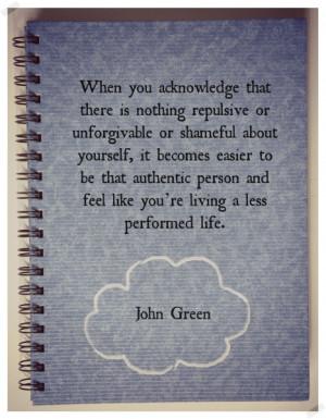 love life quotes john green