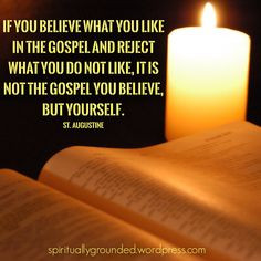 St. Augustine Bible Quotes