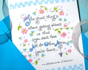 inspirational birthday quotes for young women