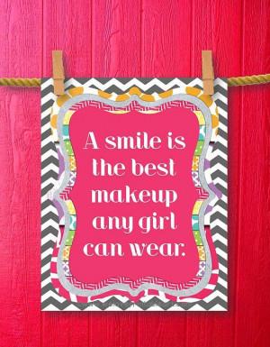 teen girls framed quotes print teen room decor gifts for teen girls ...