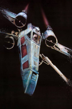 Wing Starfighter - Star Wars (1977) Jedi, X Wings Fighter, Star Wars ...