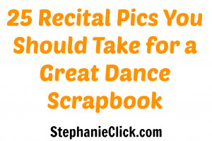 ... easily without much additional thought! Easy is best on recital day