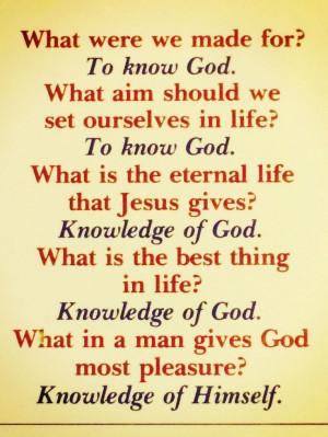 Packer on Knowing God: #Bible #God #Jesus #Theology
