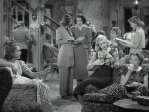 In Stage Door , he puts a bunch of wisecracking struggling actresses ...