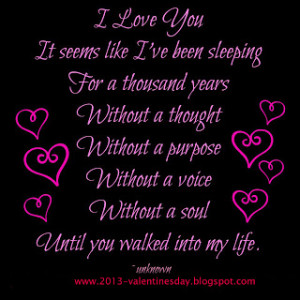 Quotes About Love And Happiness: I Love You Until You Walled Into My ...