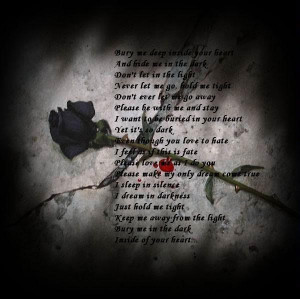 Dark love...