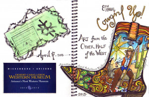 Happy Birthday Cowgirl Boots Signature cowgirl artist boot