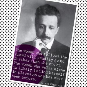 Einstein on women