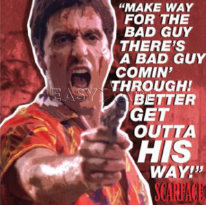 Bad Guy Scarface Quotes. QuotesGram | 300 x 298 jpeg 36kB