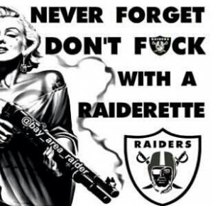Never Forget / Raiderette