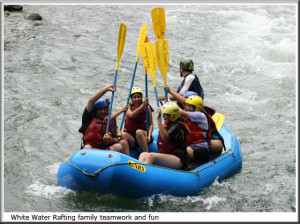 Ecotourism Costa Rica, COSTA RICA WHITE WHATER RAFTING CLASS 2 & 3