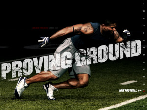 NFL Nike Football Motivational Proving Ground Ladainian Tomlinson ...