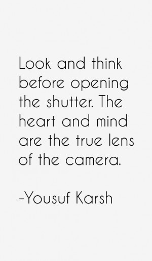 Yousuf Karsh Quotes & Sayings