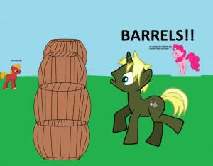 Pewdiepie Barrel Throw...