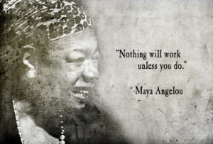 CX Inspiration from Maya Angelou
