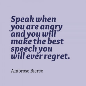 Angry Sayings When you are angry