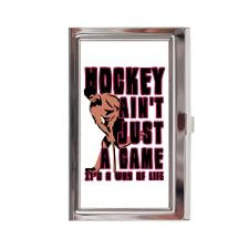 Inspirational Field Hockey Quotes Business Cards and Cases