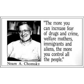 The more you can increase fear of drugs and crime welfare mothers ...