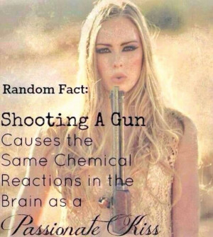 Fact. #PassionateKisses #shooting #guns
