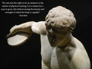 No man has the right to be an amateur in the matter of physical ...
