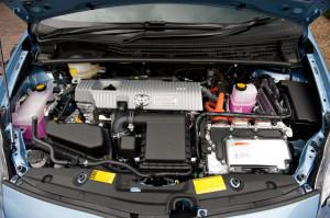 Toyota Prius Plug Engine Bay