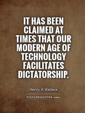 Quotes About Technology in the Modern Age