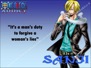 One Piece Sanji Quotes