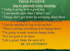 Positive Quotes About Life Challenges: Just Be Positive Man And You ...