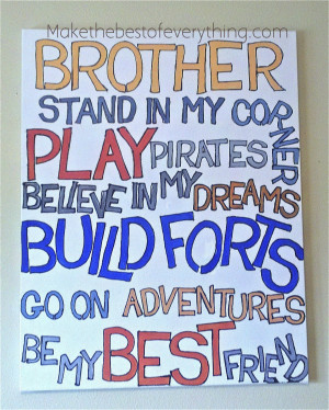 Cute Little Brother Quotes I love all those quotes that