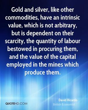 David Ricardo Finance Quotes | QuoteHD