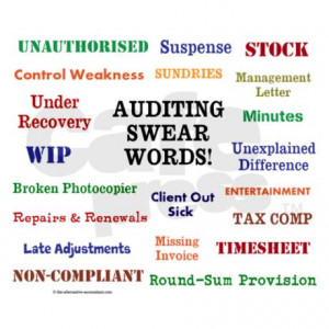 auditor_auditing_swear_words_funny_mousepad.jpg?height=460&width=460 ...