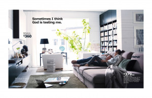 The 2014 IKEA Catalog, Edited With Absurd And Existential Quotes
