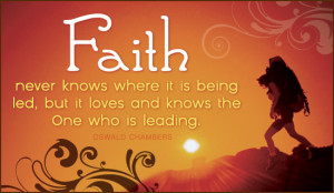 Intersection of Life and Faith