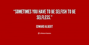 Selfish Quotes Preview Quote