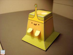 Minecraft Papercraft Slime