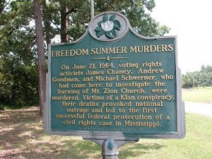 Freedom Summer Murders Marker Photo, Click for full size