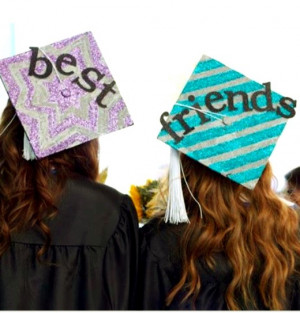 Great idea to do with your best friend at #graduation
