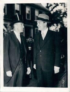 1939 MA Governor Leverett Saltonstall Senator Henry Cabot Lodge Jr