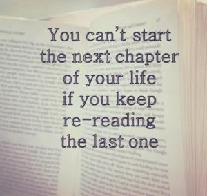 Start a new chapter.