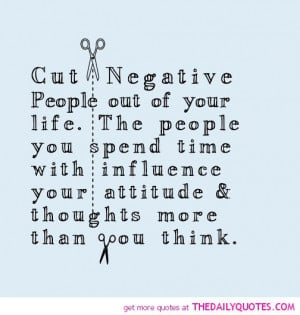 Negative People Quotes Negative people