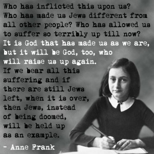 Anne on God and the Jews