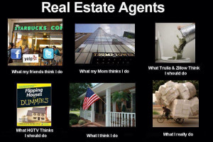 What do you think Real Estate Agents do?